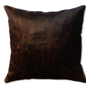 Cowhide pillow cover